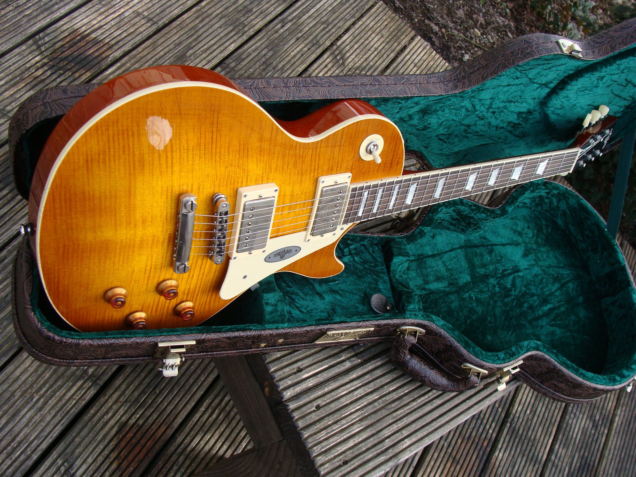 j's guitarshop | maybach lester midnight sunset ´59 aged